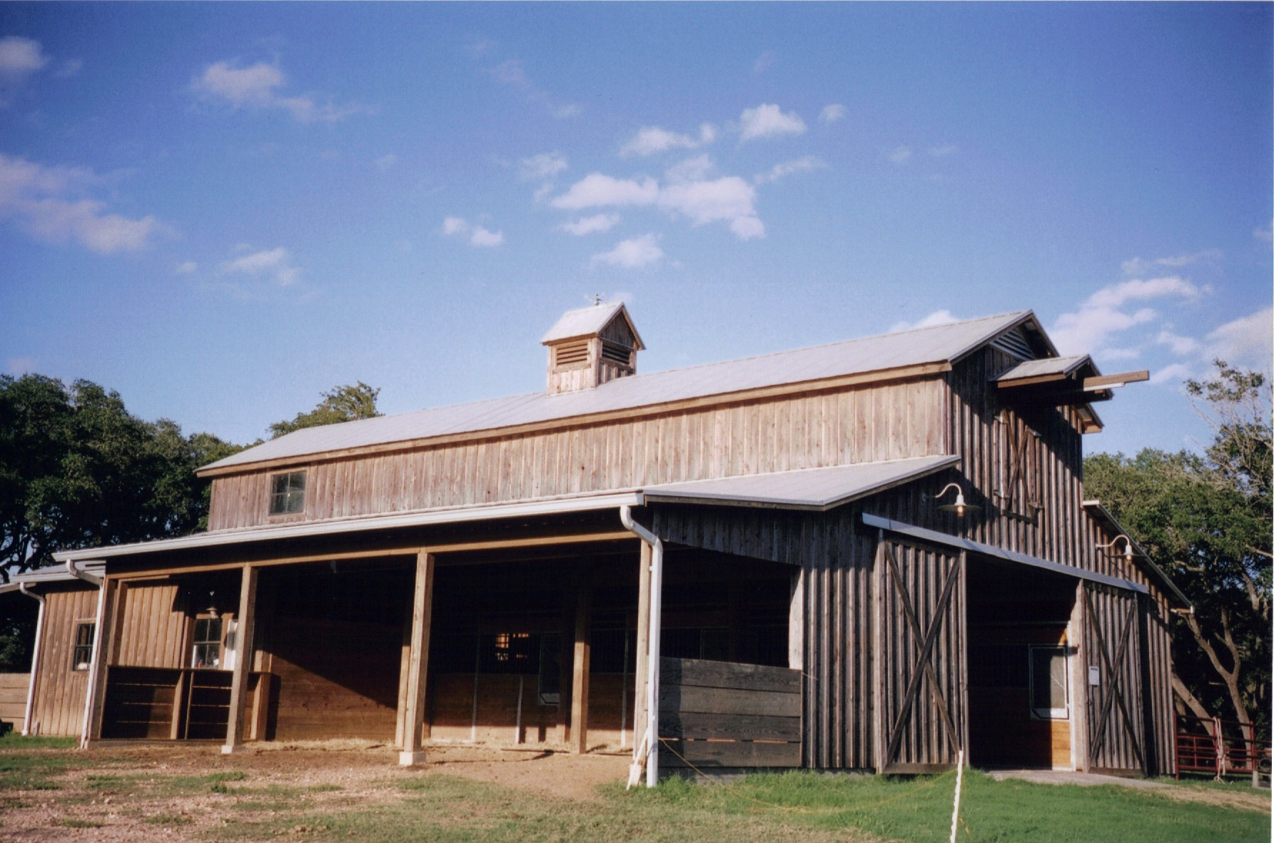 Barn Plans With Living Quarters